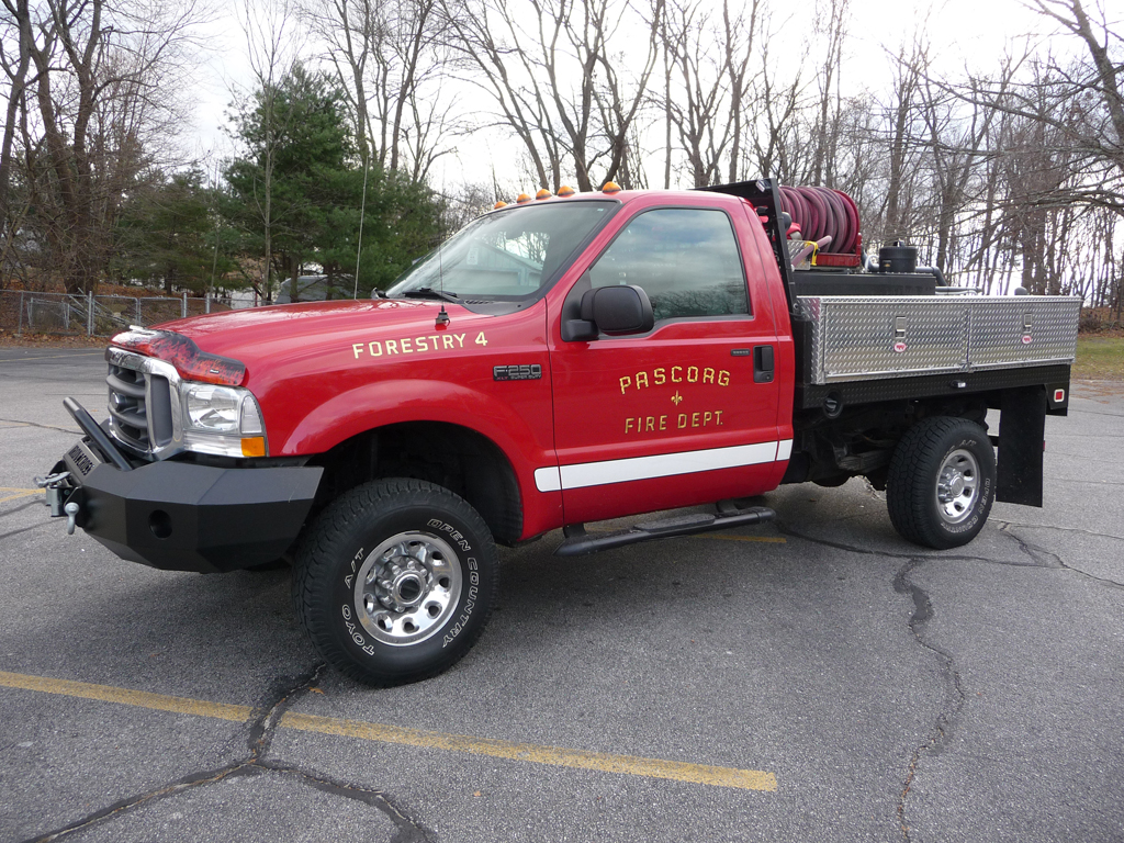 Apparatus Pascoag Fire District 2004 Ford F 250 Custom Forestry 4 Is Housed At The Howard Avenue Station